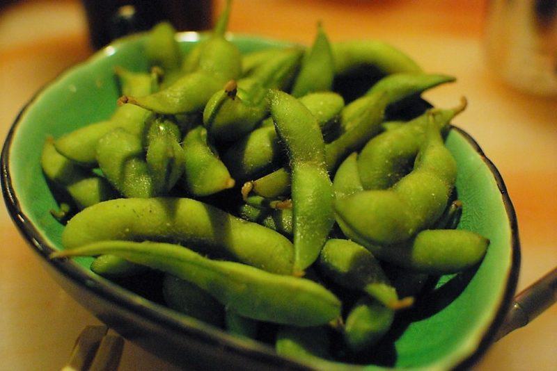 edamame cosse de soja cuisiner japonais restaurant a tokyo vivre a tokyo