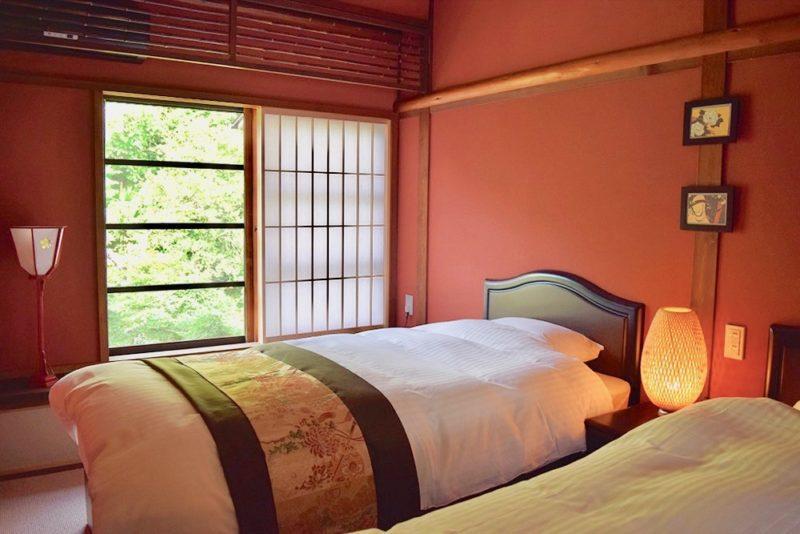 Exemple d'une chambre © Vivre Le Japon