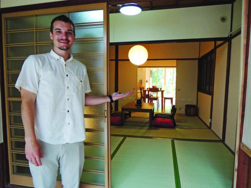 Chris, un Travel Angel de Vivre le Japon à Kanazawa