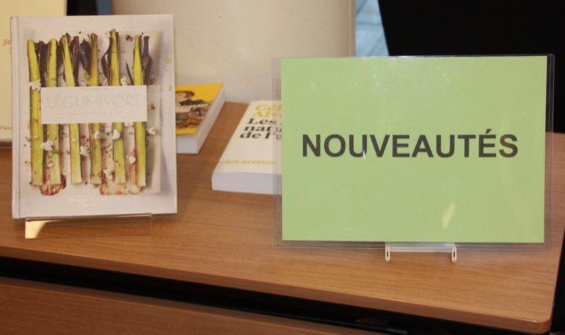 Les nouveautés du cercle de lecture de l'Ambassade.
