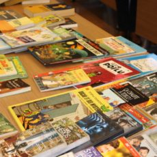 Le cercle de lecture propose des prêts de livre en français