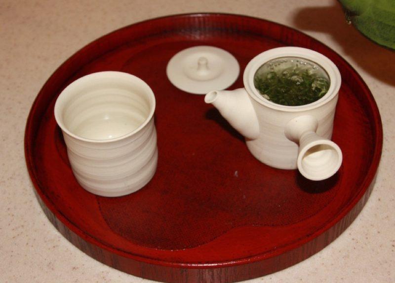 Etape 3 de la préparation du thé vert