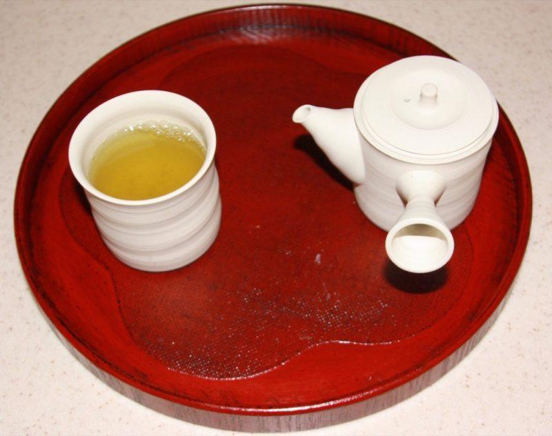 Etape 4 de la préparation du thé vert