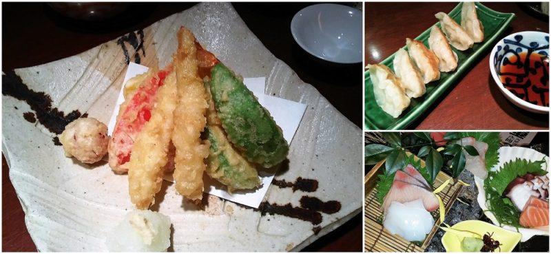 Izakaya mode d'emploi : tempura, gyoza, et sashimi ©VivreaTokyo