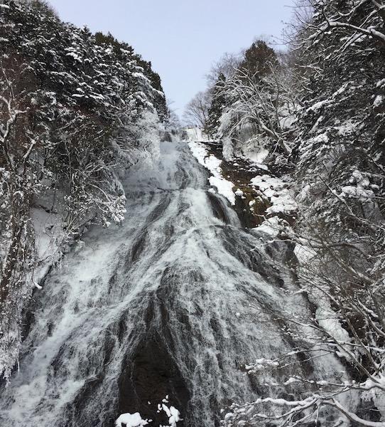 La cascade Yutaki Yumoto Onsen, Nikko, visiter le Japon