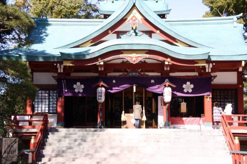 Le sanctuaire Tamagawa Sengen