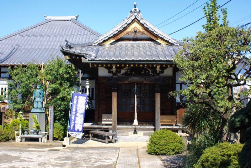 Le temple Renge-ji à Yanaka, vivre a tokyo, visiter tokyo budget