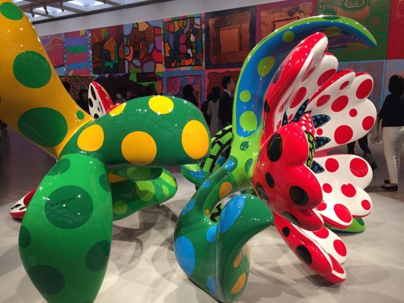 L'exposition Yayoi Kusama, the Eternal Soul à Tokyo, Visiter Tokyo et le Japon