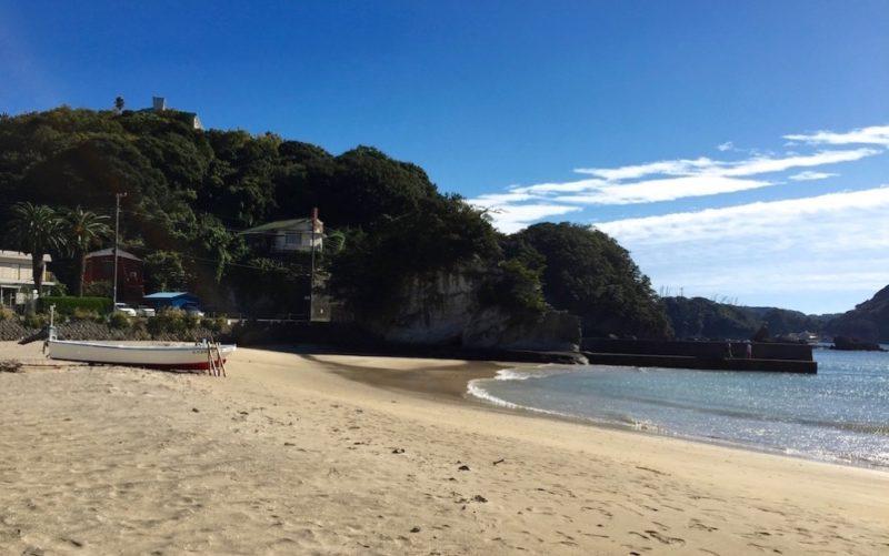 La plage de Nabetama, vivre a tokyo, week-end, expatriation a tokyo