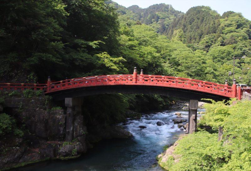 Le célèbre pont de Nikko, vivreà tokyo, visiter tokyo et le japon, expatriation à tokyo