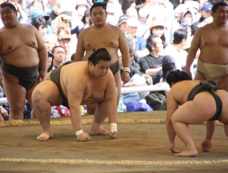 Sumo, tournoi de sumo Yasukuni Jinja, Tokyo, visiter tokyo, cuture japonaise, vivre a tokyo, expatriation tokyo