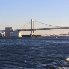 Vue de la baie de Tokyo - visiter Tokyo en bateau © Hélène Marbach