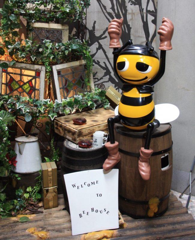 Le restaurant Bee House à Shibuya, Tokyo