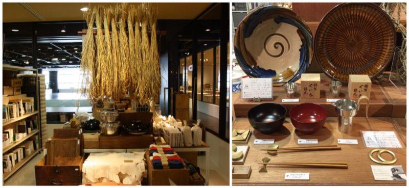 Dans la boutique du d47 Museum, Hikarie, Sibuya, Tokyo