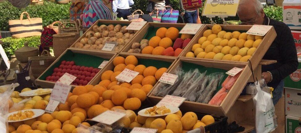 Les fruits et légumes au Farmer's market, vivre a tokyo, visiter tokyo- Tokyo