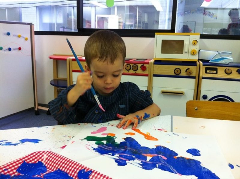 Atelier peinture au pays des sakuras