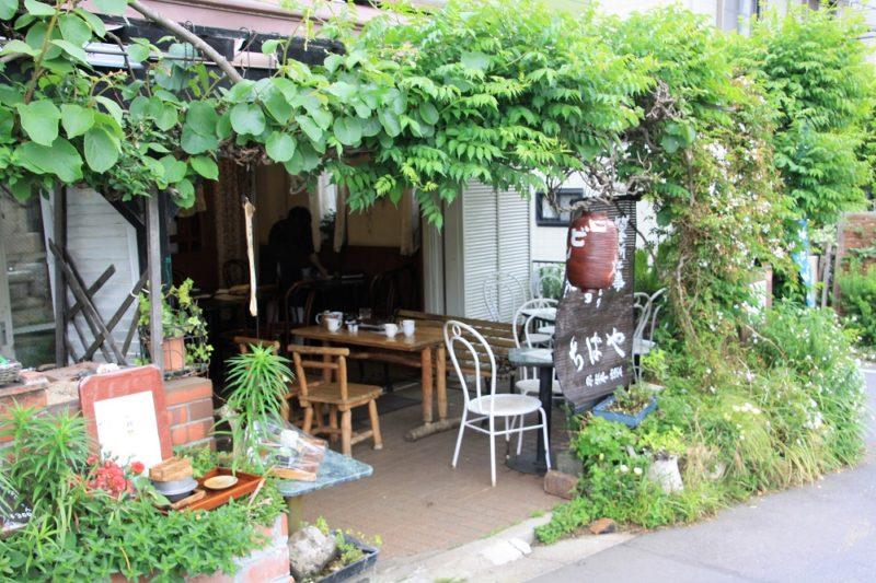 chibaya restaurant terrasse cimetiere aoyama tokyo, visiter tokyo et le japon