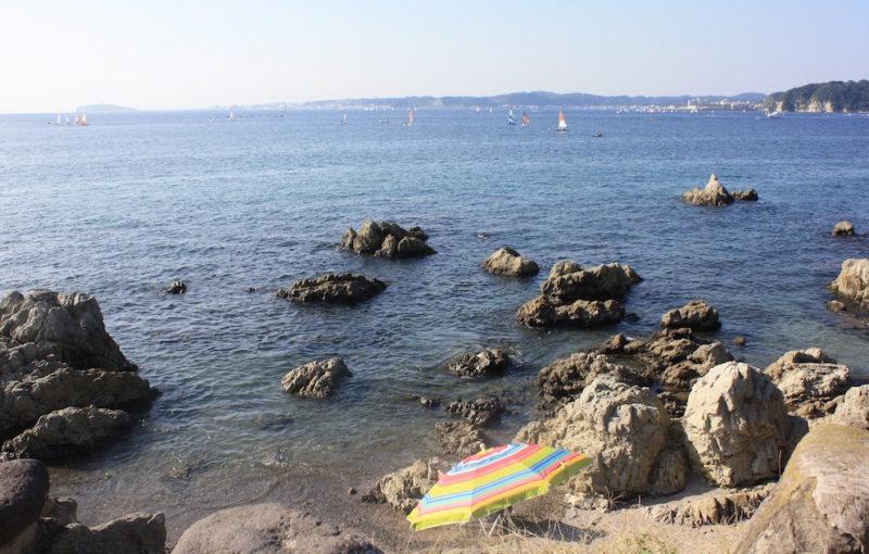La vue depuis la plage de Morito, Vivre à Tokyo