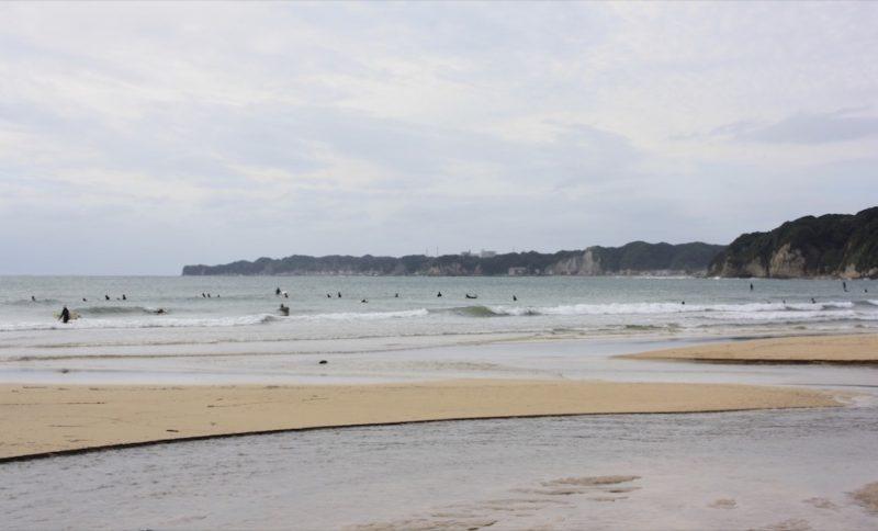 La plage d'Onjuku, Chiba, Vivre à Tokyo, expatriation à tokyo