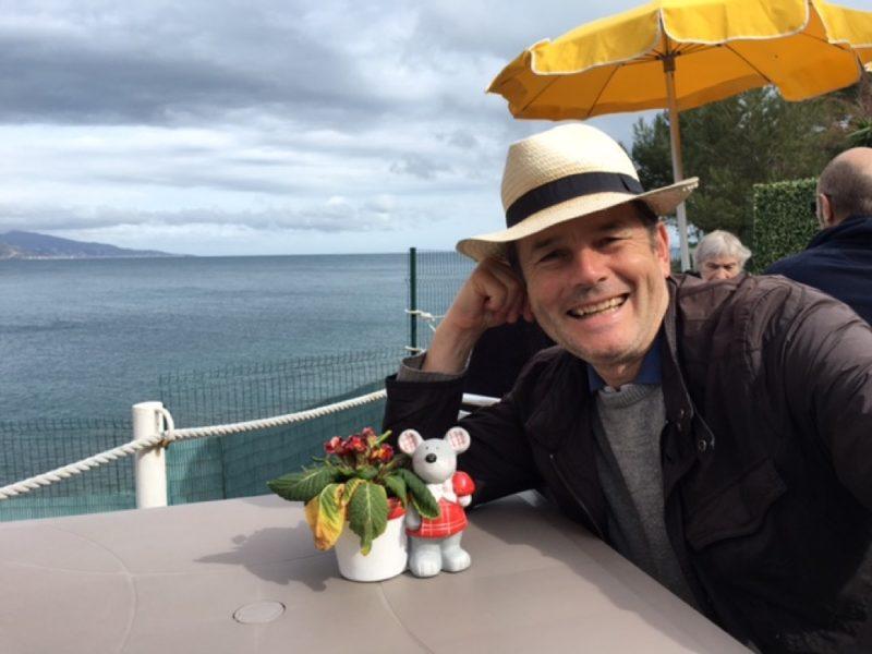 Philippe Rivoira, l'auteur de Soleil Levant sur La Provence