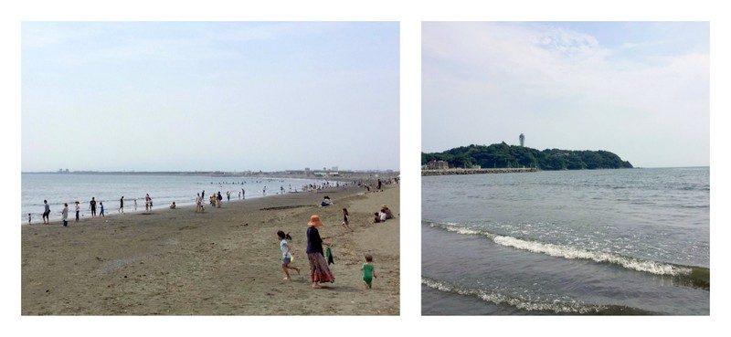 La plage d'Enoshima, Vivre à Tokyo