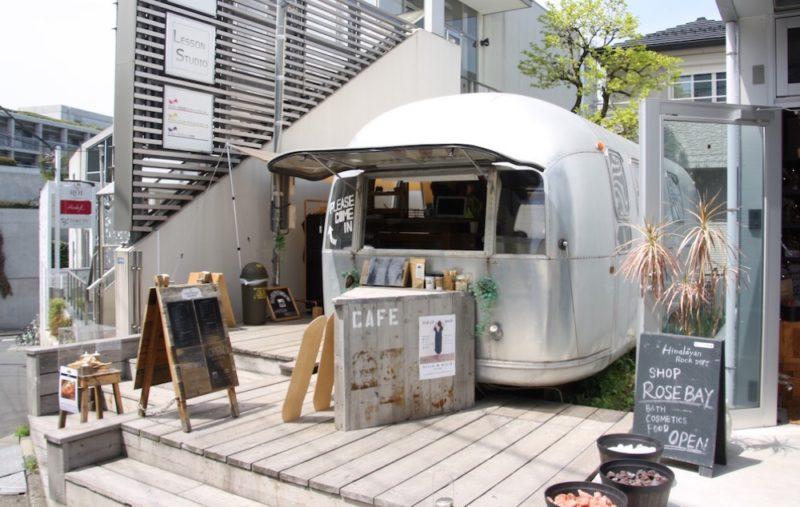 Street food à Omotesando,Tokyo