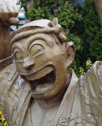Tokyo et ses statues