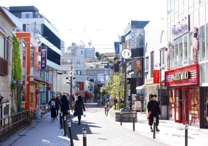 La rue Cat street, Omotesando, expatriation à Tokyo, Habiter à Tokyo, Habiter à Omotesando, Visiter Tokyo
