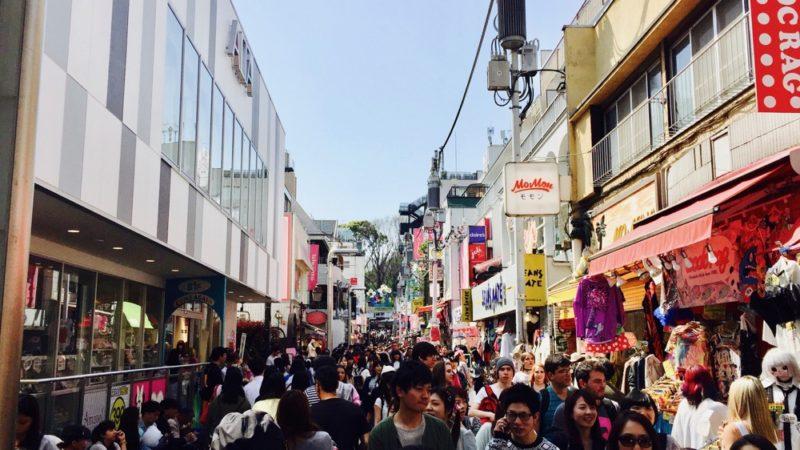 La rue Takeshita, Harajuku, visiter Tokyo, vivre a tokyo, tour culinaire