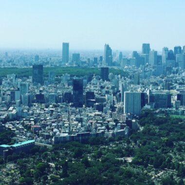 Tokyo vu du ciel, Vivre à Tokyo visiteurs tokyo japon
