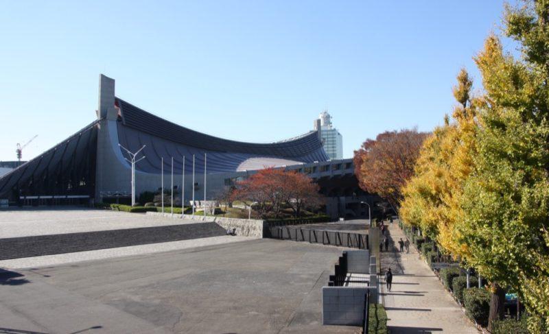 Le gymnase de Yoyogi à Tokyo, réalisation de Kenzo Tange, Visiter Tokyo et le Japon