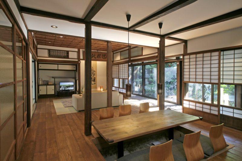 Exemple d'aménagements d'une maison à Kyoto, Honganji
