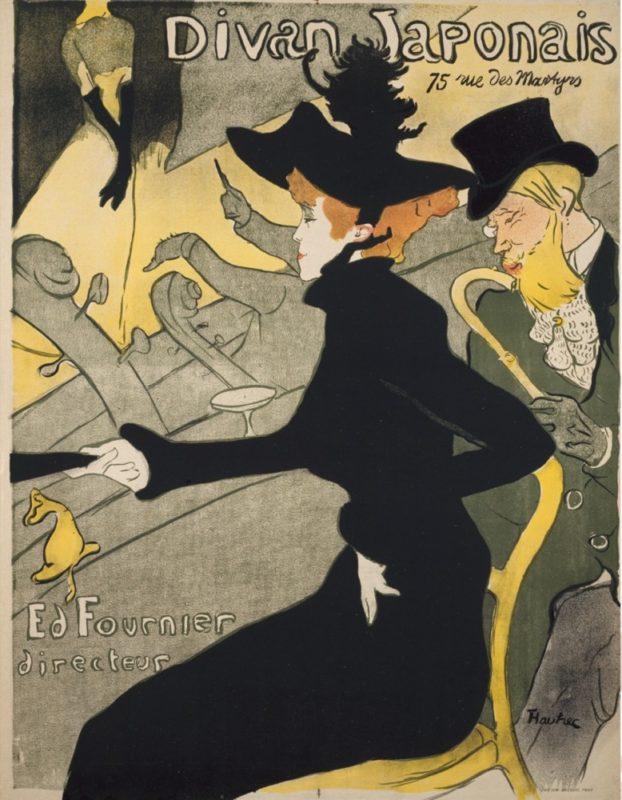 """L'exposition """" Affiches parisiennes de 1900"""", Visiter Tokyo et le Japon"""