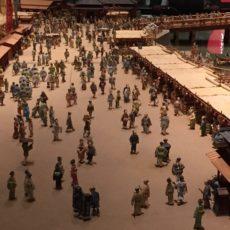 Photo d'une maquette du musée, la vie à l'époque Edo, Visiter Tokyo et le Japon