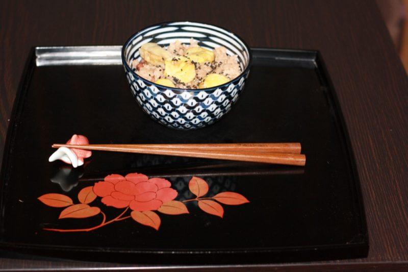 Le riz au châtaigne, Vie à Tokyo
