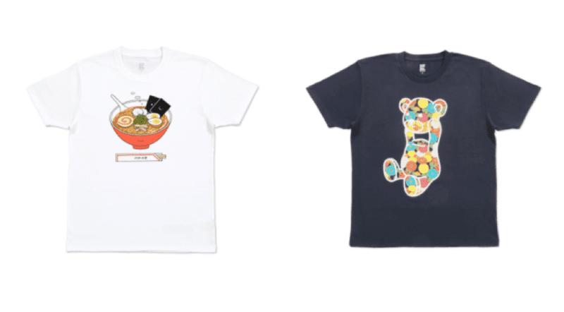 T-shirt Graniph, Vivre à Tokyo, français à tokyo, idée cadeau tokyo, mode tokyo