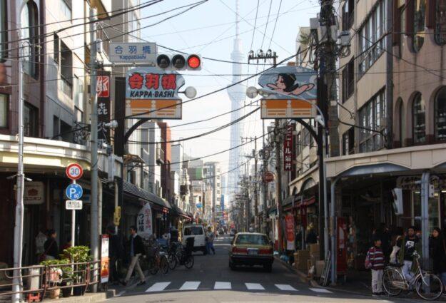 kappabashi dori asakusa rue cuisine tokyo copyright vivre a tokyo