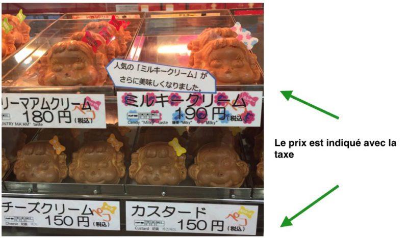 Un prix incluant les taxes, Vie à Tokyo