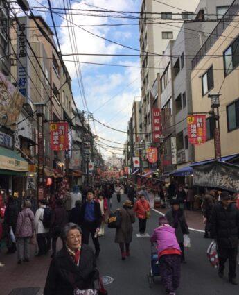sugamo jizo dori Tokyo visiter Tokyo que faire à tokyo