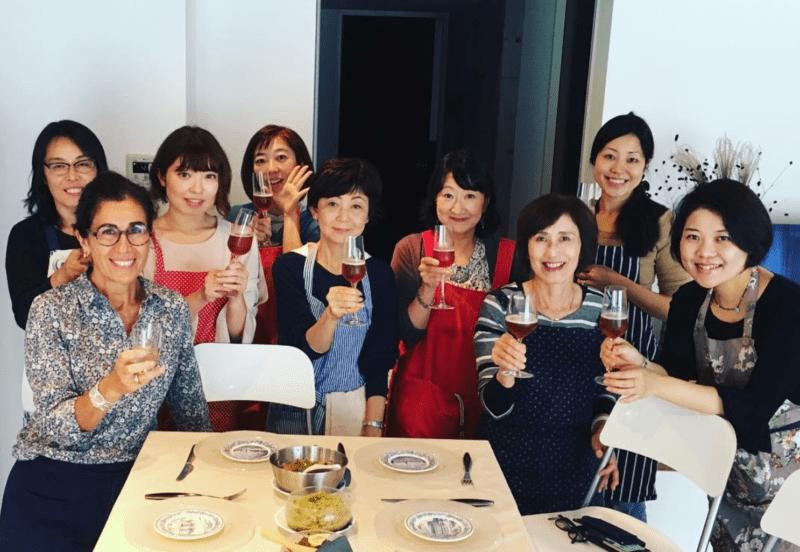 Tadaku Tokyo cours de cuisine isabelle de vaugelas cuisine japonaise