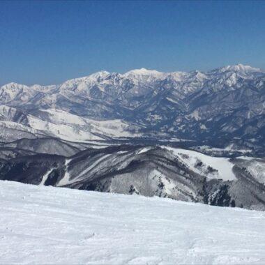 La station d'Hakuba, Skier au Japon