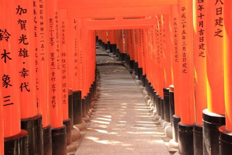 fushimi inari taisha kyoto by vivre a tokyo visiter le japon découvrir le japon visiter kyoto