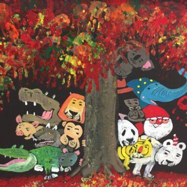 Un dessin de Tomonori Taniguchi, expatriation à Tokyo