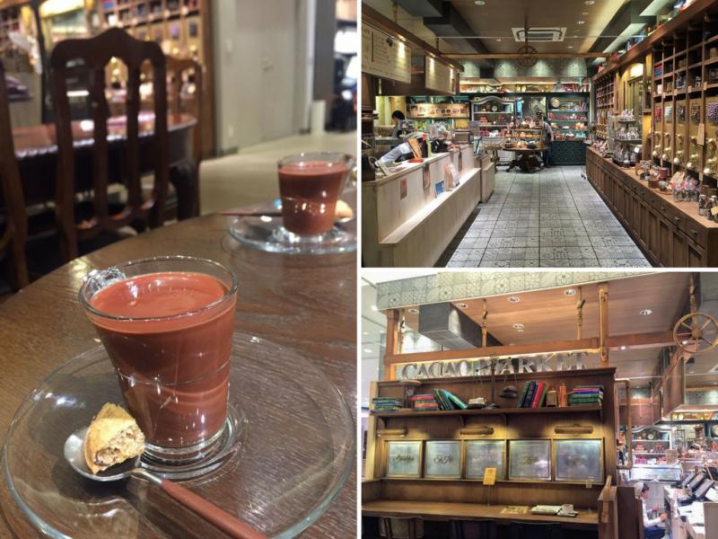 Cacao Market Ginza Tokyo, visiter tokyo, boire un chocolat chaud à Tokyo, expatriation à Tokyo