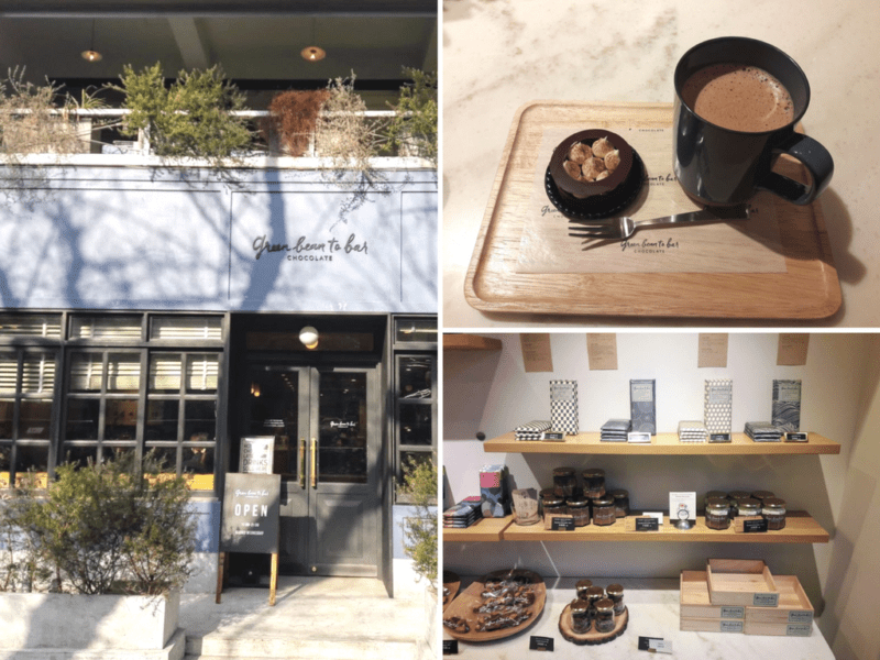 green bean to bar chocolate nakameguro, tokyo, visiter tokyo, boire un chocolat chaud à Tokyo, expatriation à Tokyo