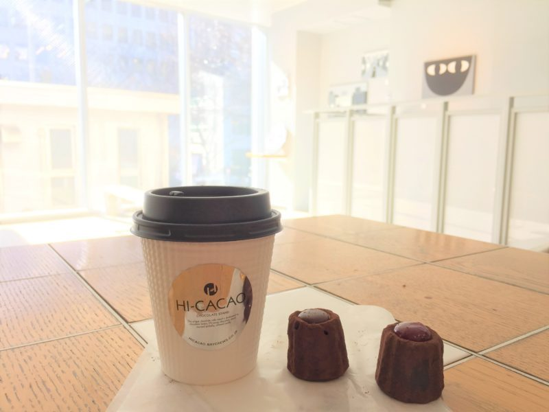 Hi cacao chocolate stand daikanyama, visiter tokyo, boire un chocolat chaud à Tokyo, expatriation à Tokyo