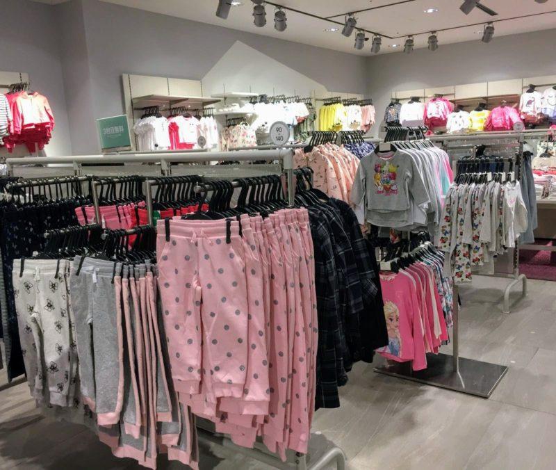 H&M enfant Tokyo, shopping Tokyo, expatriation Tokyo, vêtements pour enfant Tokyo, visiter tokyo
