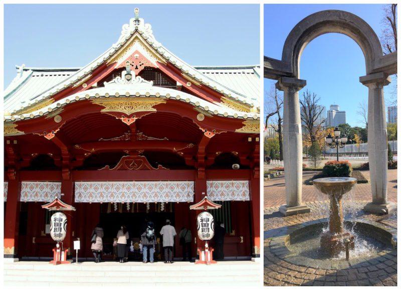 Le temple Kanda et l'esplanade devant le palais du Prince, visiter Tokyo