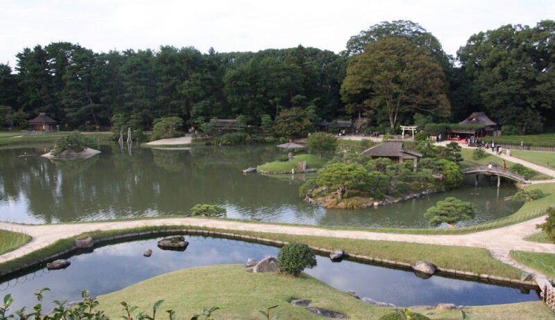 Le jardin Korakoen d'Okayama, visiter le Japon, expatriation à Tokyo