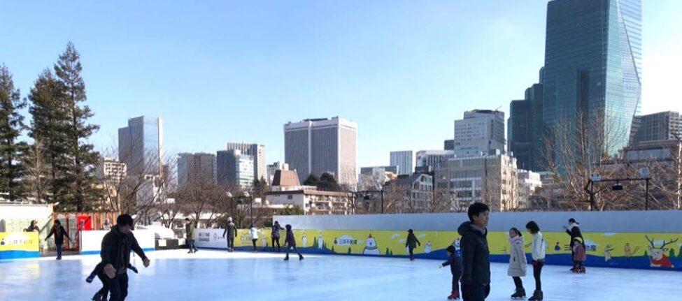 les patinoires à Tokyo, vivre à Tokyo, enfant a tokyo, visiter tokyo